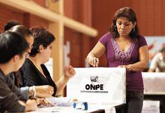 ONPE: sorteo de miembros de mesa será el 29 de enero y el 15 de febrero se publicará lista definitiva