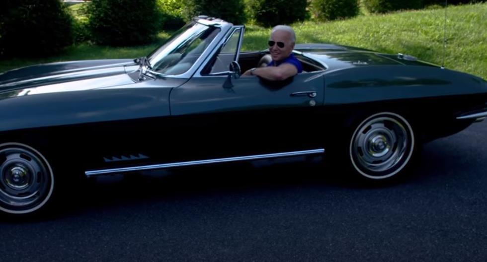 Joe Biden y su Corvette del 67: la joya que le obsequió su padre el día de su boda   FOTOS