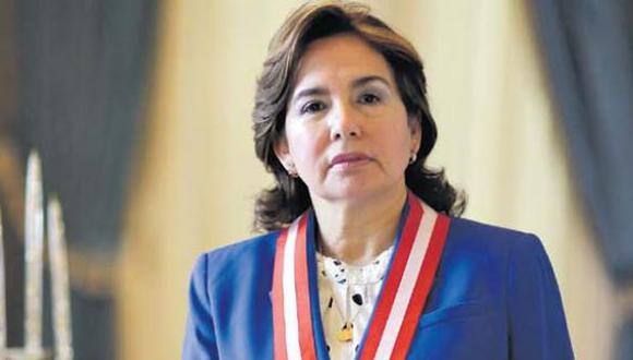 La jueza suprema Elvia Barrios. (Foto: El Comercio)