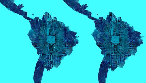 """""""Aun sin la presión del COVID-19, América Latina y el Caribe tenían un déficit de talento digital que el BID estima en 600.000 profesionales"""". (Ilustración: Giovanni Tazza)."""