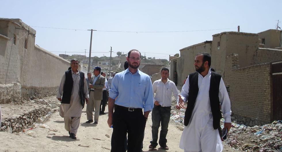 El peruano Gabriel Daly afirma que caminar por las zonas más pobres de Kabul, la capital de Afganistán, es quizás lo más impactante que he visto en su vida. (Foto: Gabriel Daly / Cortesía para El Comercio)