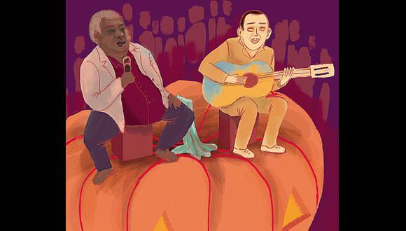 """""""Sobre la música criolla"""", por Pedro Suárez -Vértiz. (Ilustración: Nadia Santos)"""