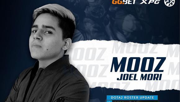 Joel Mori 'MoOz' Ozambela juega para J.Storm. (Imagen: Facebook / @MoOzDota2)
