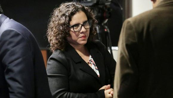 Fiscal Rocío Sánchez consideró que la JNJ está evaluando con objetividad a los fiscales supremos. (Foto: GEC)
