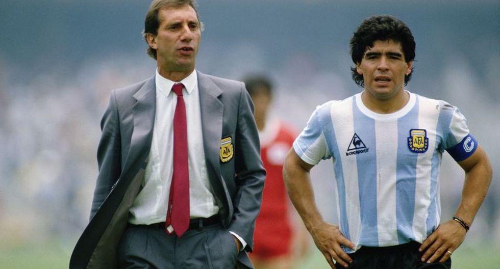 """De Bilardo aprendió la obsesión y las cábalas. De Maradona, un tipo de liderazgo a prueba de balas. """"El 'Flaco' se merecía ir al Mundial"""", escribe el astro argentino en su segundo libro de memorias."""