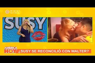 """Susy Díaz confirma que volvió con Walter Obregón: """"Nunca dejamos de conversar"""""""