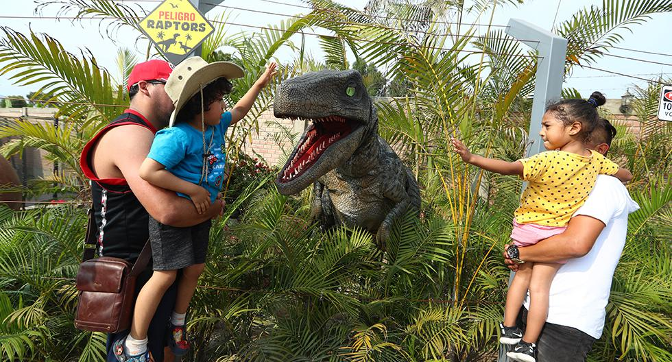 Reserva en Dinoworld al 93628-8526. Síguelos en Facebook: Dinoworldperu.
