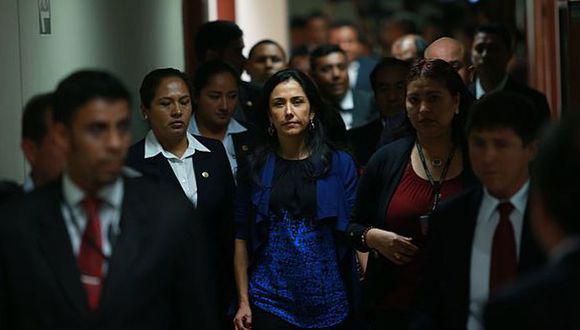 La ex primera dama Nadine Heredia es investigada por el Ministerio Público en el marco del Caso Gasoducto Sur Peruano. (Foto: Lino Chipana)