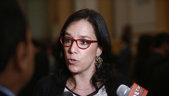 La congresista Marisa Glave indicó que fue ella quien convocó a ciertas personalidades para la campaña por el No. (Foto: GEC)