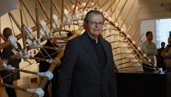 El arquitecto Juvenal Baracco fue homenajeado por la Universidad Ricardo Palma. (Retrato de Juan Ponce / El Comercio).