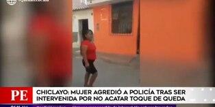 Coronavirus en Perú: Mujer lanzó ladrillos a policías durante intervención por incumplir restricción