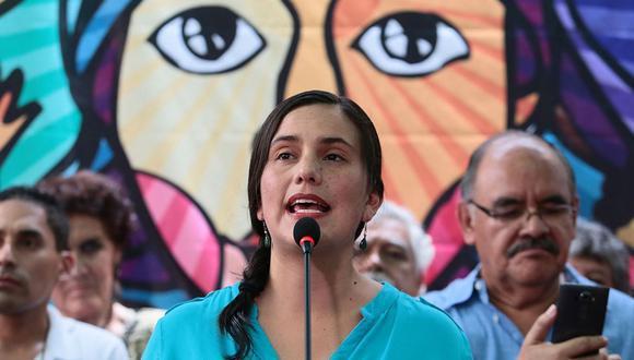 Juntos por el Perú inscribirá a Verónika Mendoza como precandidata a la presidencia. (Foto: GEC)