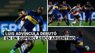 Luis Advíncula: así fue el debut del peruano con camiseta de Boca Juniors