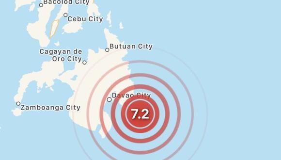 El sismo tuvo una profundidad de 65.6 kilómetros. (Foto: UGSS)