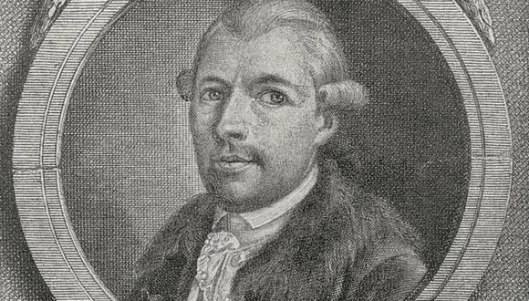 Johann Adam Weishaupt (1748-1830), filósofo alemán, fundador de la Orden de la Sociedad Secreta Illuminati. (Getty Images).