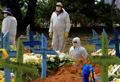 Brasil registra 528 muertes por coronavirus en un día y el total roza los 240.000