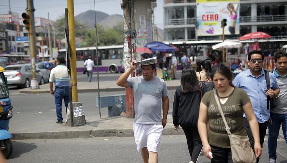 Para este martes el índice máximo de radiación UV en Lima alcanzará el nivel 14, según informó el Senamhi. (Foto: GEC)