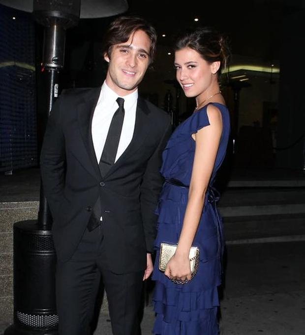 Michelle Salas, the daughter of Luis Miguel, and Diego Boneta