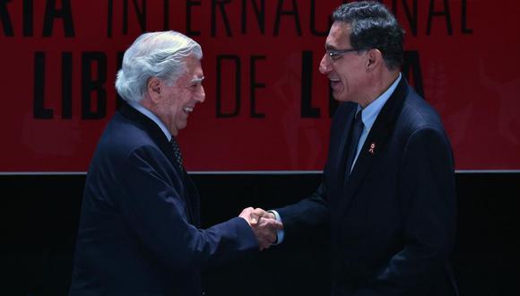 Mario Vargas Llosa ratificó su respaldo a la decisión del presidente Martín Vizcarra de disolver el Congreso (Foto: Agencias)