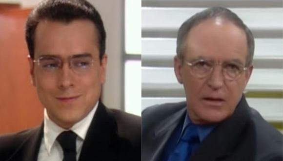 Jorge Enrique Abello y Kepa Amuchástegui revivieron a 'Don Armando' y 'Roberto Mendoza' en divertida conversación. (Foto: Capturas de video)