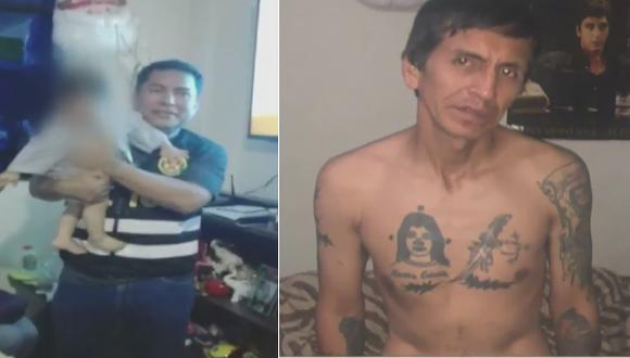 Bebe que desapareció hace 9 meses es encontrado en El Agustino. (Captura: ATV)