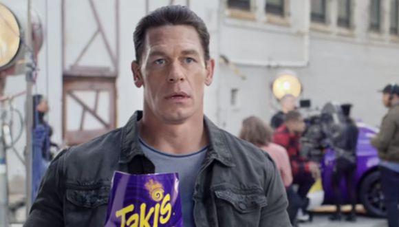 Las distintas expresiones de John Cena después de probar los Takis son muy comentadas en la plataforma de videos. (YouTube: Takis)