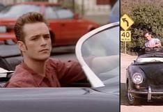 Un año sin Luke Perry: este es el mítico Porsche que manejaba en la serie Beverly Hills 90210   FOTOS