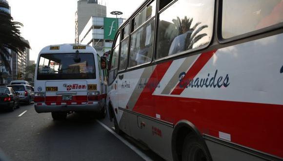 Alcalde del Callao a favor de una autoridad única de transporte