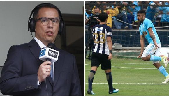 Un días antes de su fallecimiento, Daniel Peredo narró el encuentro entre Alianza Lima vs. Sporting Cristal. El decisivo gol rimense fue el último en voz del recordado cronista nacional. (Foto: El Comercio)