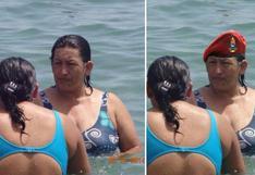 Una mujer idéntica a Chávez causa sensación en las redes