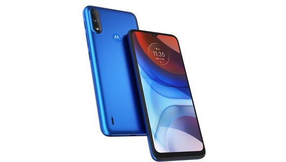 Conoce todos los detalles del Moto E7i de Motorola, el celular que puede aguantar hasta más de un día encendido. (Foto: Motorola)