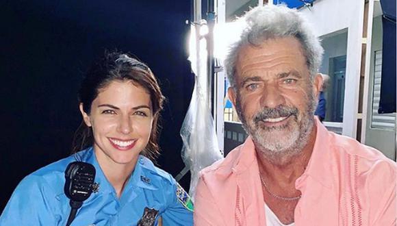 "Stephanie Cayo tras grabar escenas con Mel Gibson en ""Force of Nature"": ""Sentía que estaba flotando""  (Foto: Instagram)"