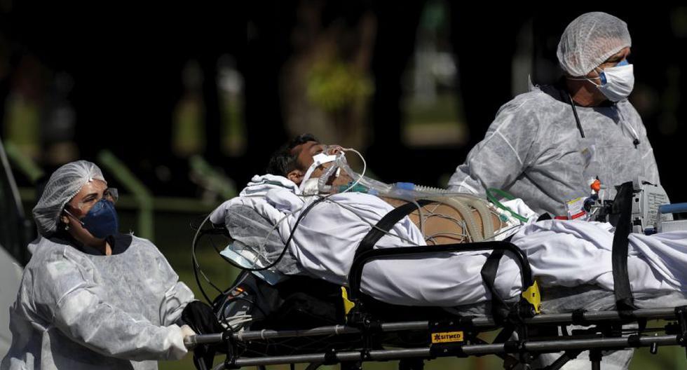Coronavirus en Brasil | Últimas noticias | Último minuto: reporte de infectados y muertos por COVID-19 hoy, lunes 26 de abril del 2021. (Foto:AP /Eraldo Peres).