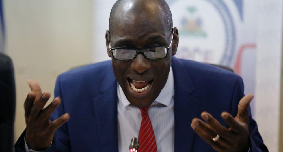 """""""Hoy tomamos la decisión de terminar definitivamente el permiso con el que funciona en el país la ONG Oxfam de Gran Bretaña"""", dijo el ministro de Planificación de Haití, Aviol Fleurant. (Reuters)"""