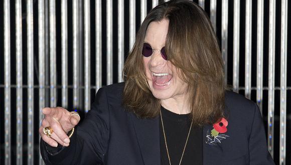 """Ozzy Osbourne respondió así a los rumores que señalan que está en su """"lecho de muerte"""". (Foto: AFP)"""