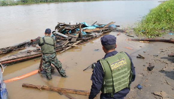 El hecho se produjo cerca al puesto de vigilancia fronteriza de Santa Rosa, Loreto. (Foto referencial: GEC)