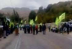 Moquegua: agricultores de Tumilaca levantaron paro contra el proyecto minero Quellaveco