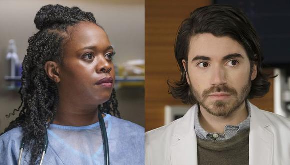 """Bria Samoné Henderson y Noah Galvin serán parte del elenco regular de la quinta temporada de """"The Good Doctor"""" (Foto: ABC)"""