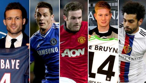 Ellos son los cinco jugadores más caros de Europa del 2014