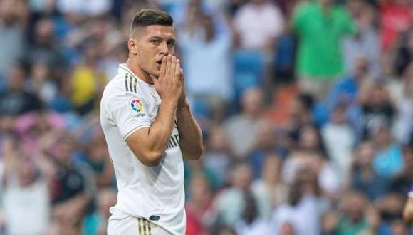 Luka Jovic llegó al Real Madrid en el 2019 procedente de Alemania.
