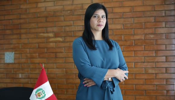 """""""Este año hemos logrado cerrar otro acuerdo de colaboración eficaz que ya ha sido aprobado por el Poder Judicial"""", afirma procuradora Silvana Carrión (Foto: Grupo El Comercio)"""