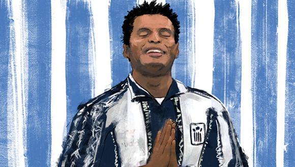 El 1 de enero del 2000 una noticia entristeció no solo al mundo del fútbol peruano. La muerte de Sandro Baylón golpeó al país tras la celebración de Año Nuevo. (Ilustración: Giovanni Tazza)