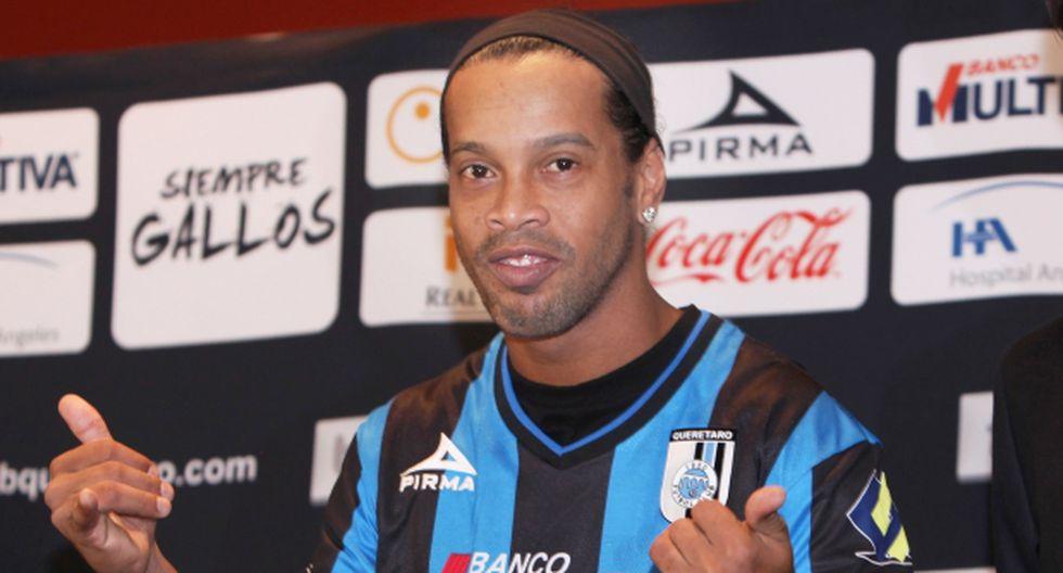 Ronaldinho: las millonarias ganancias que genera en Querétaro