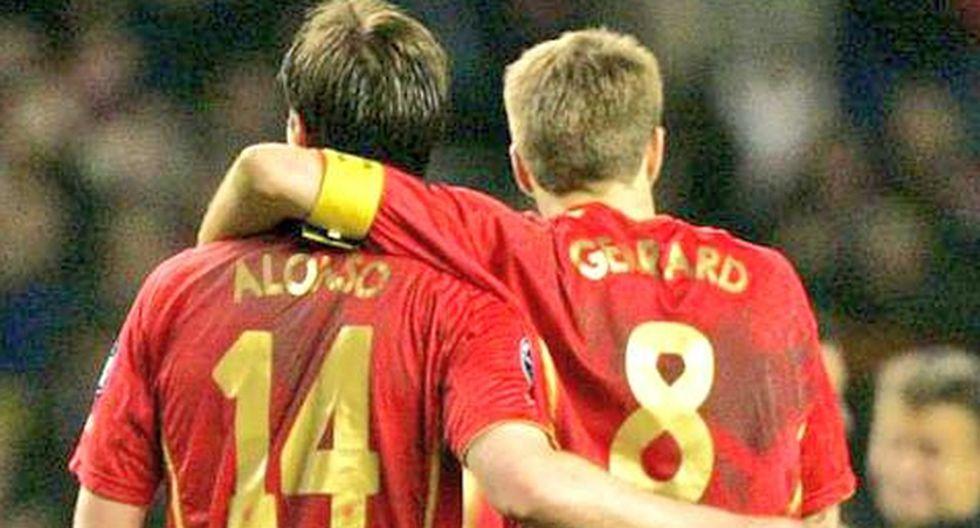 Steven Gerrard y el conmovedor tuit que le dedicó Xabi Alonso