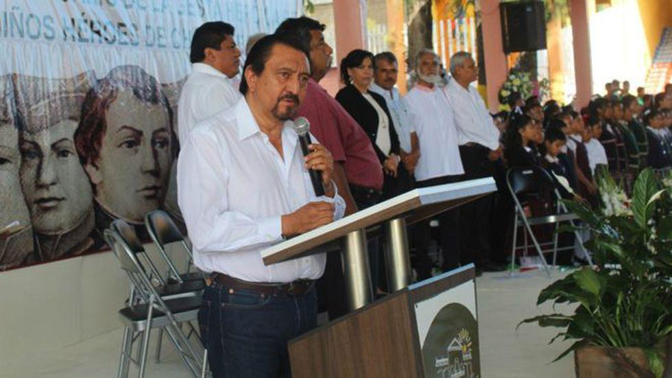 El alcalde Escandón Hernández enfrentó el enojo de sus vecinos. (Ayuntamiento de Las Margaritas).