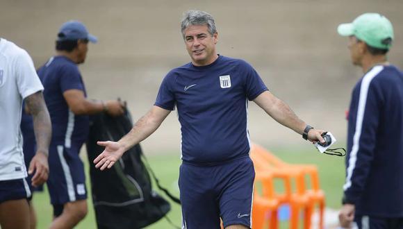 Pablo Bengoechea dejó de ser entrenador de Alianza Lima a inicios de marzo. (Foto: Jesús Saucedo / GEC)