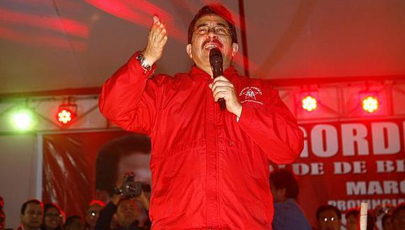 El Apra apoyará la nueva gestión de Luis Castañeda