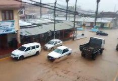 Áncash: más de 100 mil personas de 36 distritos en peligro por pronóstico de fuertes lluvias