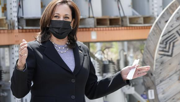 La vicepresidenta de Estados Unidos, Kamala Harris. AP