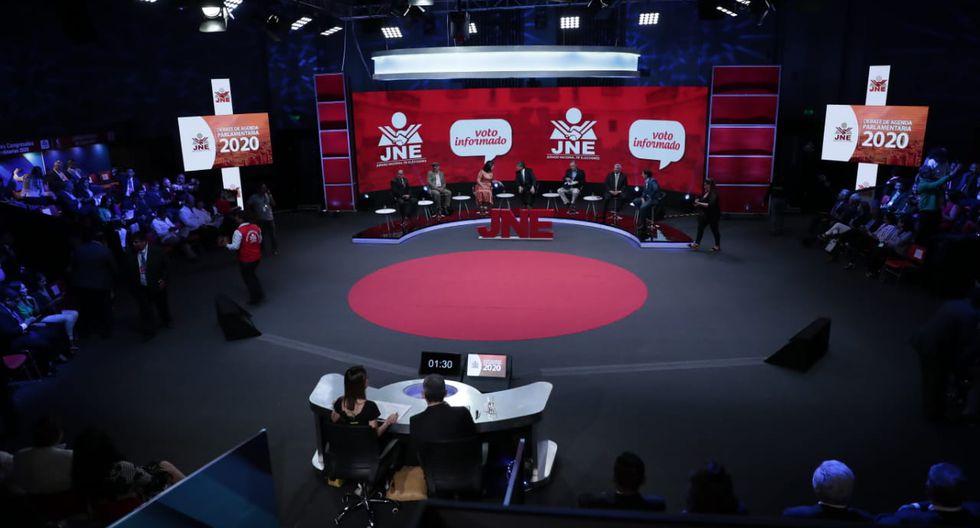Así se realizó segundo debate de candidatos al Congreso. (Foto: Hugo Pérez / GEC)